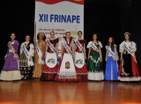 A corte da XII Frinape