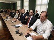 Presidente da ACCIE, Fábio Vendruscolo, explanou sobre os projetos em andamento