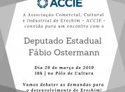 Encontro com Deputado Estadual Fábio Ostermann