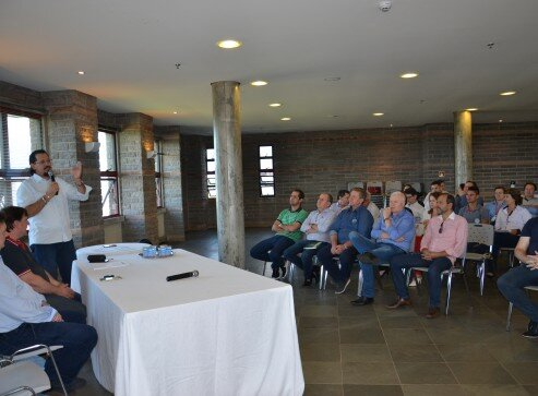 Fábio Vendruscolo falou sobre os objetivos da reunião