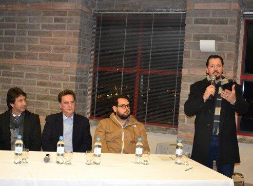 Presidente da ACCIE, Fábio Vendruscolo, falou que entidade está sempre aberta para temas que envolvem o desenvolvimento econômico e social da cidade e região