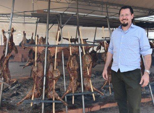 Presidente da ACCIE, Fábio Vendruscolo, o  idealizador do Festival Gastronômico