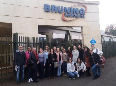 Visita do Grupo de RH da ACCIE à Bruning